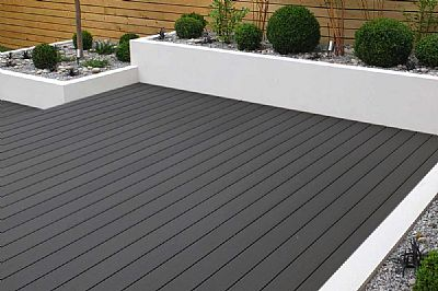 Charcoal Composite Decking 3.6m Length