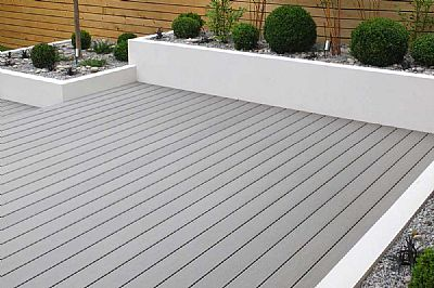 Grey Composite Decking 3.6m Length