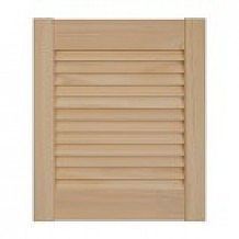 Radiata Pine Louvre Doors (Height 36 / 915mm)
